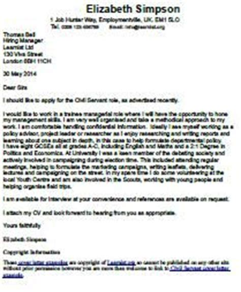 Cover letter environmental analyst